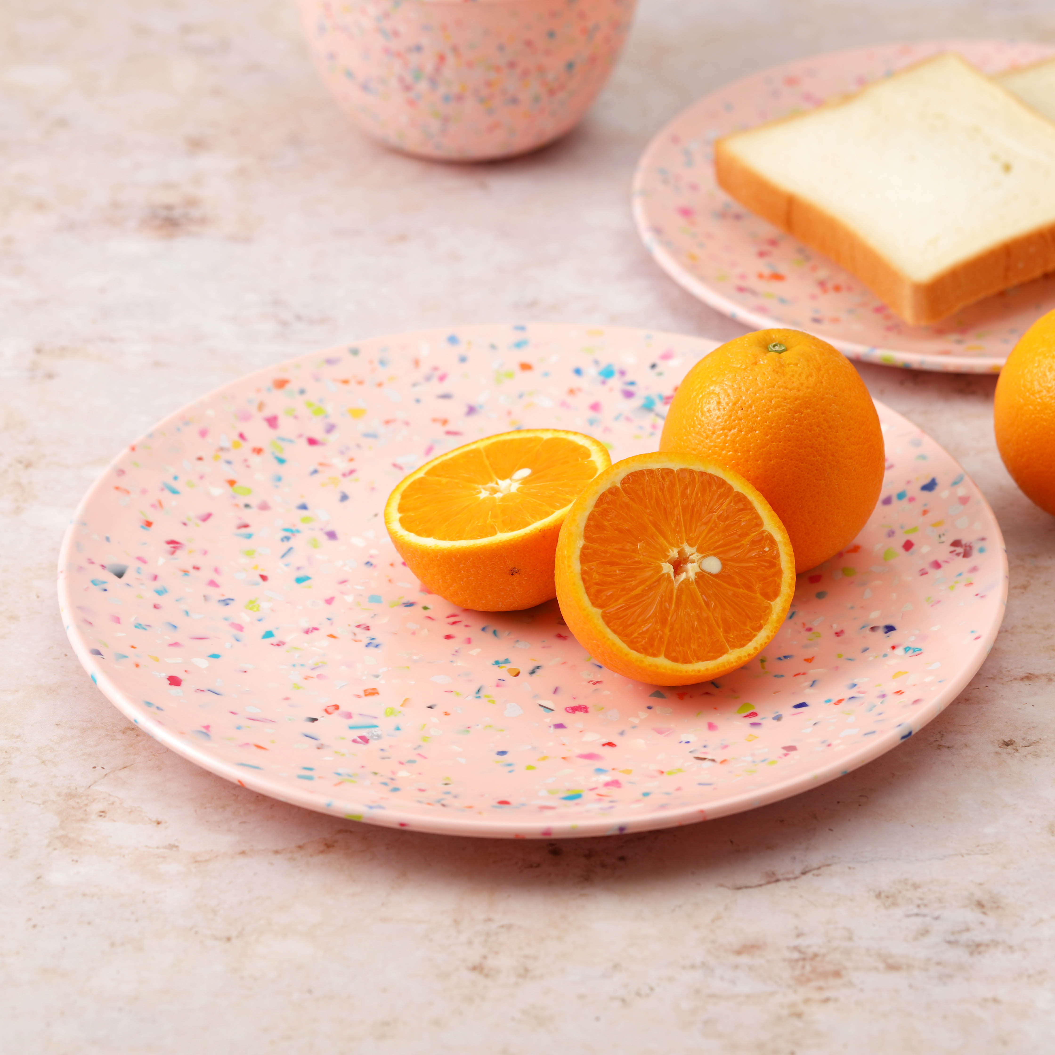 Confetti Dinnerware Set, Multicolored, 12-piece set slideshow image 4