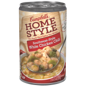Southwest-Style White Chicken Chili Soup