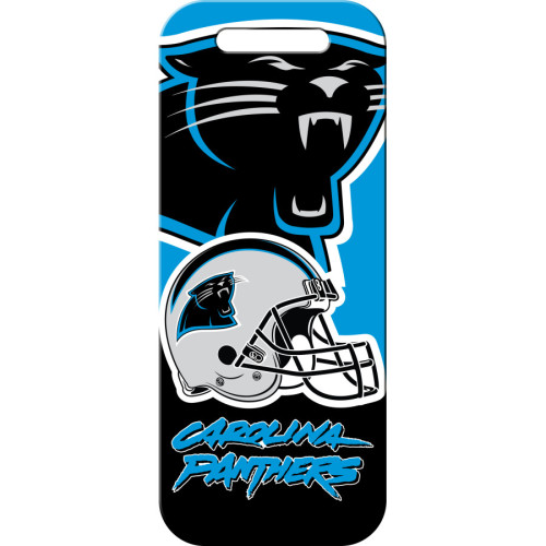 Carolina Panthers Large Luggage Quick-Tag 5 Pack