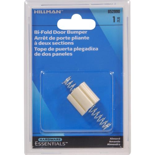 Hardware Essentials Bi-Fold Door Bumper White