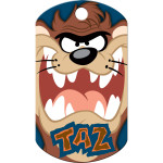 Taz Blue Large Military ID Quick-Tag