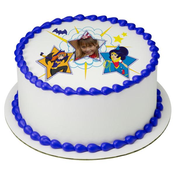 DC Super Hero Girls™ Girl Power PhotoCake® Edible Image® Frame