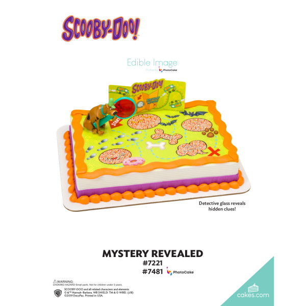 Scooby-Doo!™ Mystery Revealed DecoSet® The Magic of Cakes® Page