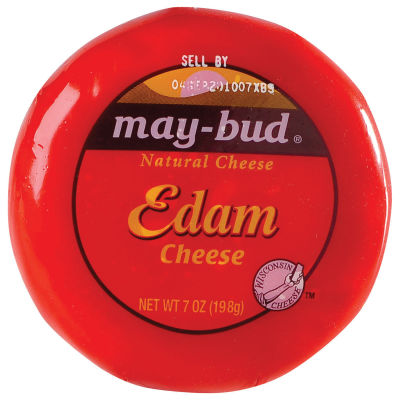 May-Bud® Edam Cheese, 7 oz Wrapper