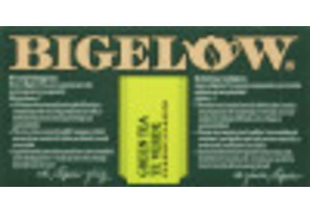 Front of Green Tea box bilingual packaging