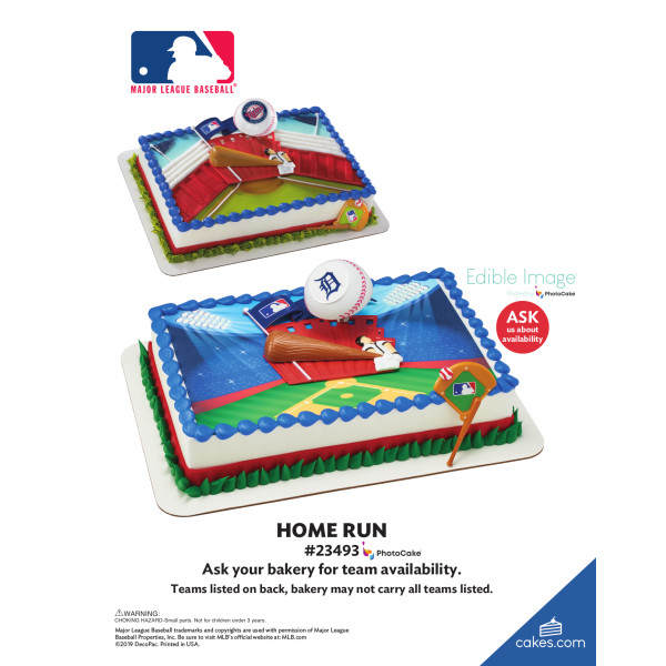 MLB® Home Run DecoSet® The Magic of Cakes® Page
