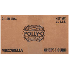 Polly-O Fresh Mozzarella Curd 160 oz Bag
