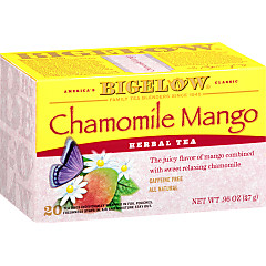 Chamomile Mango Herbal Tea - Case of 6 boxes- total of 120 teabags