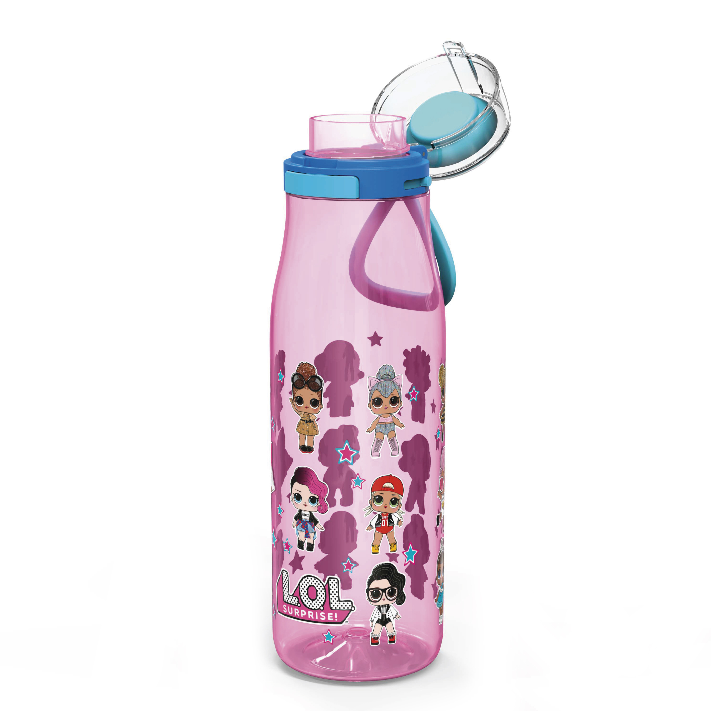 LOL Surprise 25 ounce Water Bottle, Favorite LOL Characters, 3-piece set slideshow image 4