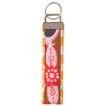 Funky Wristlet Clip Strip Key Chain