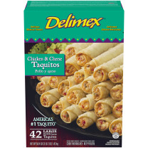 CHICKEN & CHEESE TAQUITOS 42 pc image