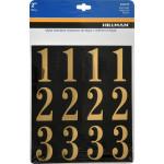 Square Cut Self Adhesive Numbers