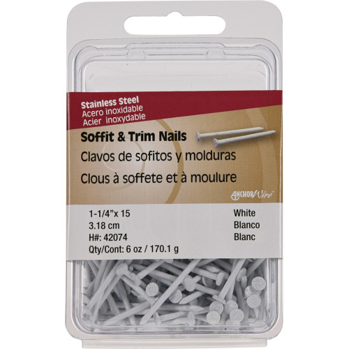 Stainless Steel Colored Trim Nails Anchor Wire Trim