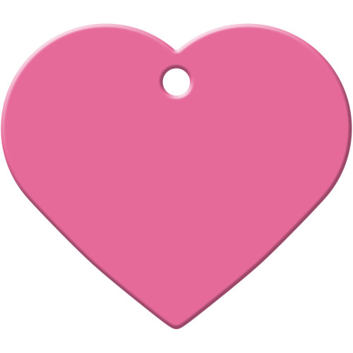 Pink Large Heart Quick-Tag 5 Pack