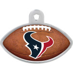 Houston Texans Large Football Quick-Tag