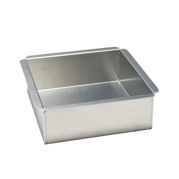 14 Gauge Square Aluminum 8 Quot L X 8 Quot W X 3 Quot H Pan Decopac
