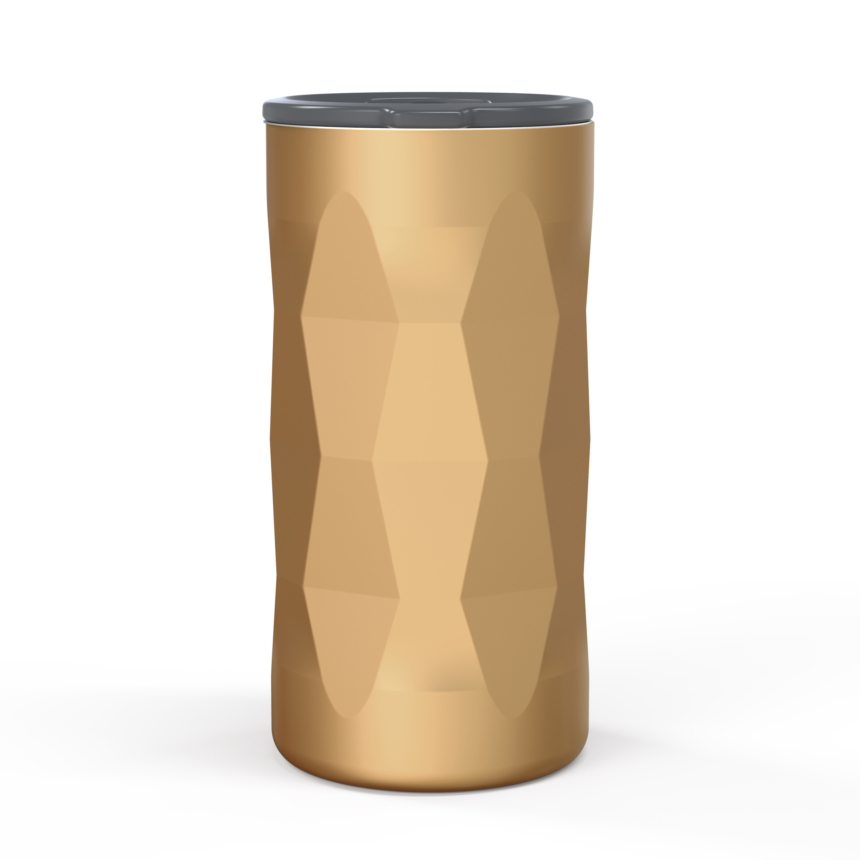 Fractal 12 ounce Vacuum Insulated Stainless Steel Tumbler, Copper slideshow image 5