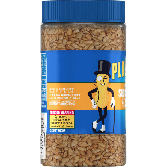 PLANTERS Dry Roasted Sunflower Kernels 3.85 oz Jar