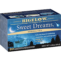 Sweet Dreams Herbal Tea - Case of 6 boxes- total of 120 tea bags