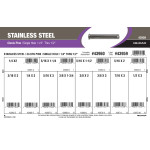 "Stainless Steel Single-Hole Clevis Pins Assortment (1/4"" thru 1/2"")"