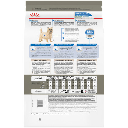 Small Weight Care Dry Dog Food