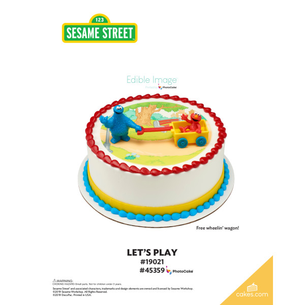 Sesame Street® Let's Play DecoSet® The Magic of Cakes® Page