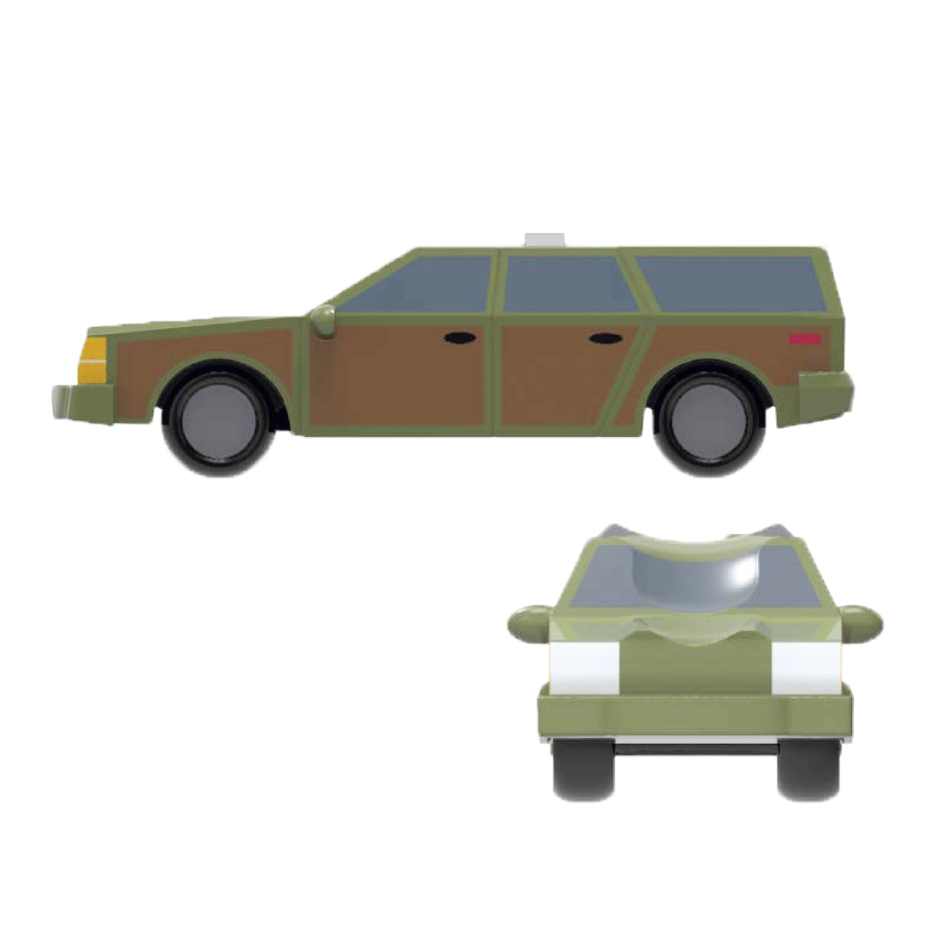 National Lampoon's Christmas Vacation Salt and Pepper Shaker Set, Griswold Family Tree & Car, 2-piece set slideshow image 7