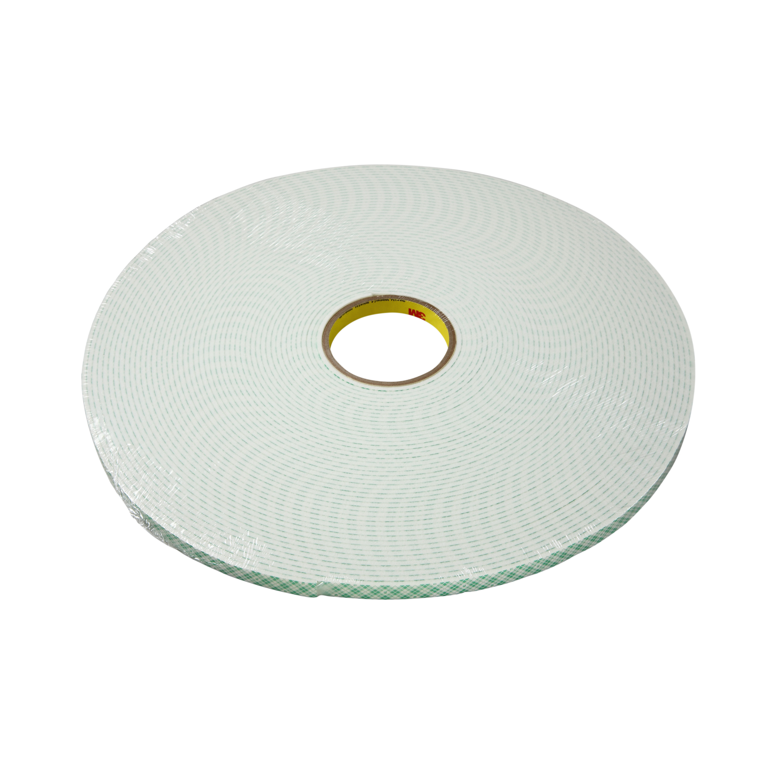 3M™ Double Coated Urethane Foam Tape 4008, Off White, 4 in x 36 yd, 125 mil, 2 rolls per case