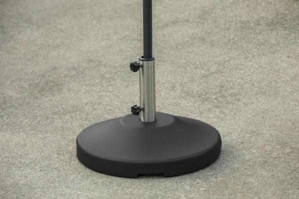 80 lb Free Standing Umbrella Base - Black 11
