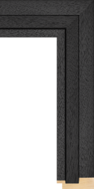 Shutter Black w/Grain 2 3/8