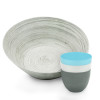 Zak Style Serving and Dip Bowls, Assorted Colors, 4-piece set slideshow image 1