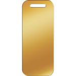 Gold Large Luggage Quick-Tag
