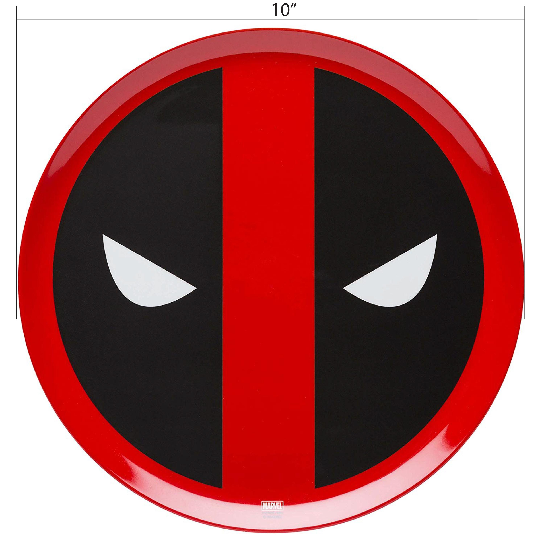 Marvel Comics Dinnerware Set, Deadpool, 2-piece set slideshow image 6