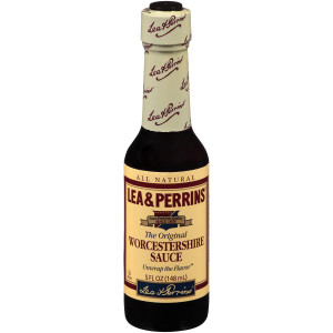 LEA & PERRINS Worcestershire Sauce, 5 oz. Bottles (Pack of 24) image