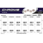 Chrome Hex Bolt Caps Assortment