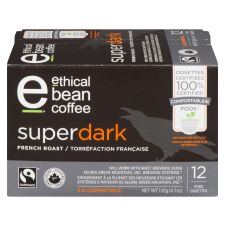 Ethical Bean Superdark French Roast Coffee Keurig K-Cup Pods
