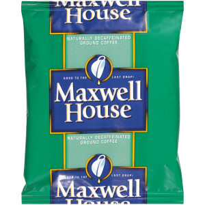 MAXWELL HOUSE Decaffeinated Roast & Ground Coffee, 1.25 oz. Packets (Pack of 42) image
