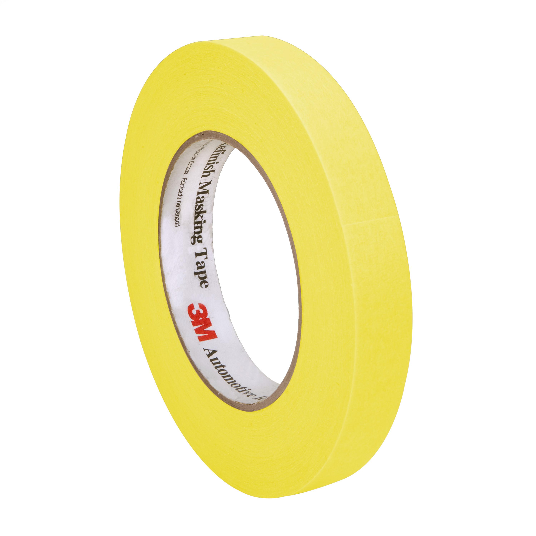 3M™ Automotive Refinish Masking Tape, 06652, 18 mm x 55 m, 48 per case