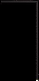 Gramercy Fillet Black 3/16