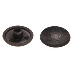 Black Trim Caps (for 10mm Hex Socket Connector Screw Head)