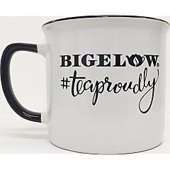 White/Black #TeaProudly Mug