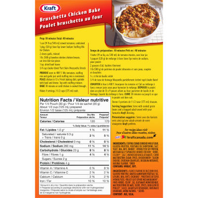 Stove Top Chicken Stuffing Mix, Low Sodium