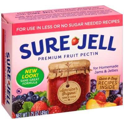 Sure-Jell Premium Light Fruit Pectin, 1.75 oz Box