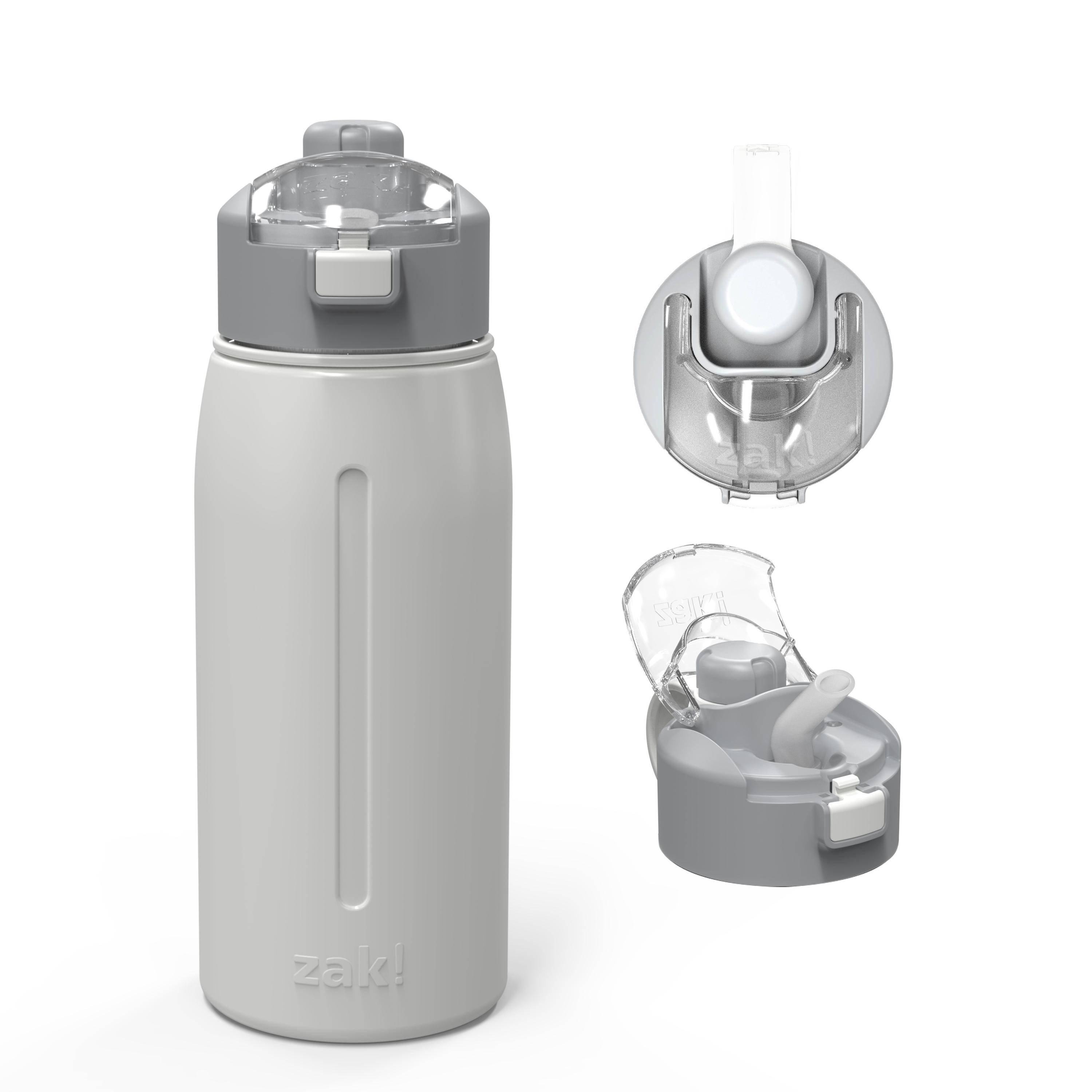 Genesis 24 ounce Vacuum Insulated Stainless Steel Tumbler, Gray slideshow image 1