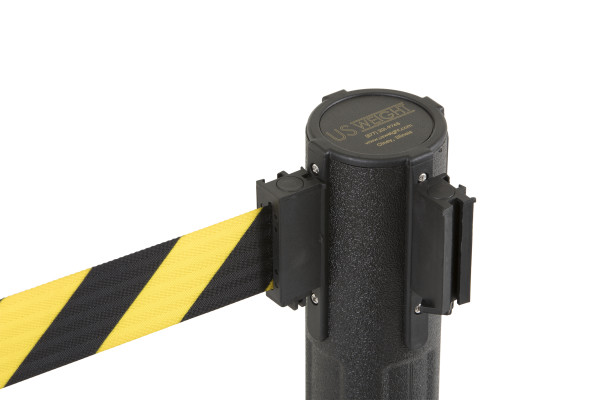 Sentry Stanchion - Black with CYB belt 10