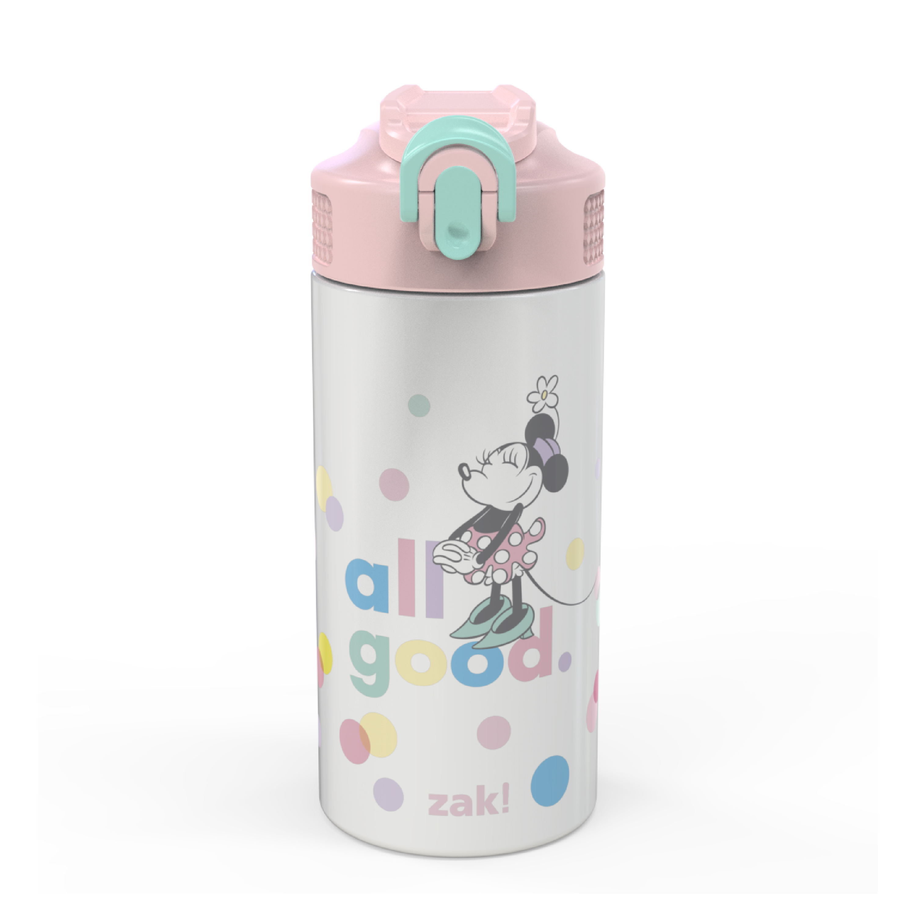 Disney 14 ounce Stainless Steel Vacuum Insulated Water Bottle, Minnie Mouse slideshow image 1