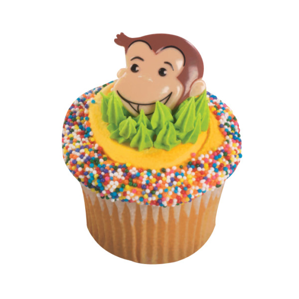 Curious George® Cutest Monkey Cupcake Rings