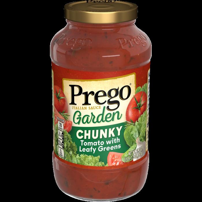 Chunky Tomato with Leafy Greens Italian Sauce