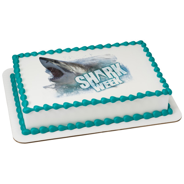 Discovery Shark Week™ Shark Attack PhotoCake® Edible Image®