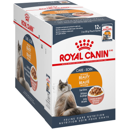 Royal Canin Feline Care Nutrition Intense Beauty Pouch Cat Food